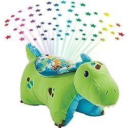 5. Pillow Pets Sleeptime Lites Green Dinosaur Plush Night Light