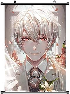 FidgetGear Mystic Messenger Zen Anime HD Canvas Wall Poster Scroll Home Decor Cosplay 30x45cm/12 x18 inches