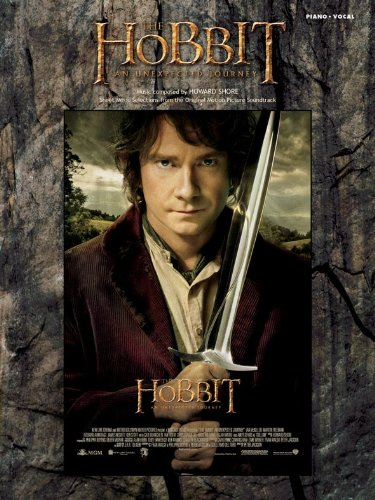The Hobbit: An Unexpected Journey (Soundtrack): Noten für Gesang, Klavier