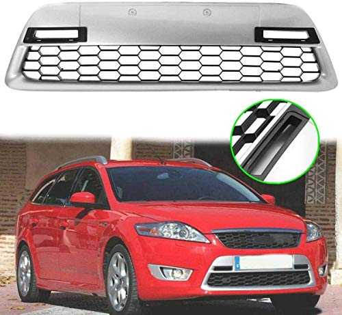 HYNB Auto Radiator Center Bumper Grille Panel Cover Car Grill Panel Trim voor Ford Mondeo MK4 2007-2010
