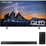 SAMSUNG QN75Q80RA 75' Q80 QLED Smart 4K UHD TV (2019) w/ HWQ80R Soundbar Bundle