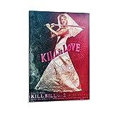 CAICAI Uma Thurman Bride Kill Bill Poster dekorative