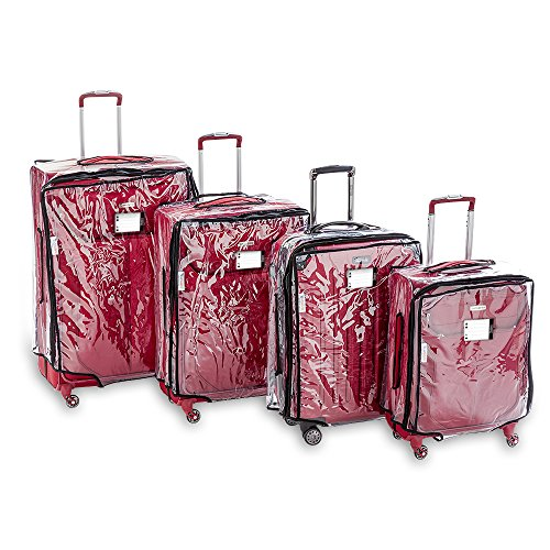 Blasani Luggage Protector Suitcase Clear PVC Cover Fits Most (26'~27') Bags