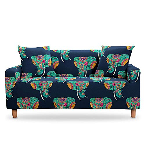 Mandala Bohemian Sofa Cover Sectional Slipcover Cover Couch Cover Elastic StretchArmchair Cover for Living Room A10 4 seater