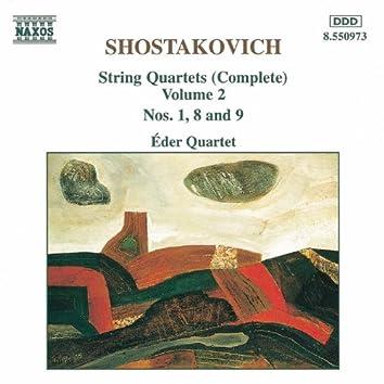 SHOSTAKOVICH: String Quartets Nos. 1, 8 and 9