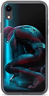 iPhone 7 Plus/8 Plus Anti-Scratch Shockproof Clear Case Spider-Man Avengerss Comic Superhero Far from Home