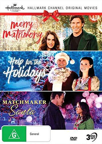 Hallmark Christmas 3 Film Collection (Merry Matrimony/Help for the Holidays/Matchmaker Santa)