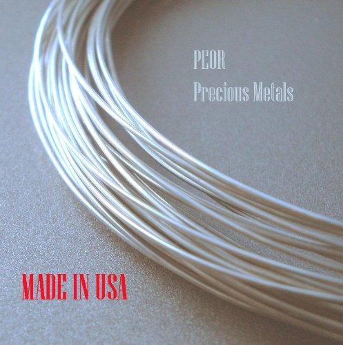 "Platinum .950 Wire, 6"", 24 GAUGES, Made in USA,"