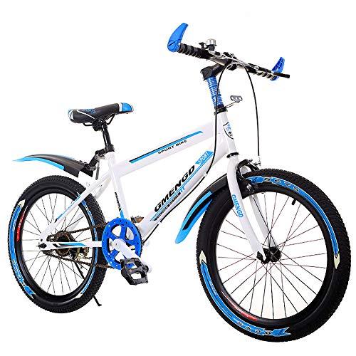 BEAUTTO para niños Bicicleta Plegable, 20 Pulgadas / 22 Pulgadas / 24 Pulgadas, con absorción de Choque, Bicicleta de una Velocidad, Bicicleta de Frenos de Disco 8-16 años de Edad Niño y niña