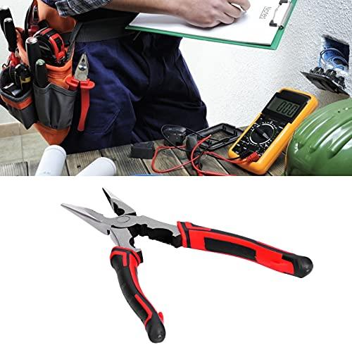 Cortador de alambre, alicates de corte diagonal Alicates de corte Práctico para alambre de hierro para mantenimiento industrial para mantenimiento de electrodomésticos para alambre de acero(230 mm)