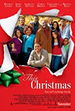 THIS CHRISTMAS MOVIE POSTER 2 Sided ORIGINAL 27x40 CHRIS BROWN