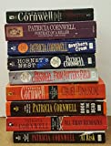 Patricia Cornwell - assorted collection -- At Risk, All That Remains, Book Of Dead, Cruel Unusual, From Potter's Field, Hornet's Nest, Southern Cross, Portrait Of Killer,PostMortem