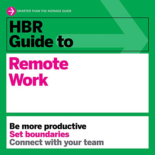 HBR Guide to Remote Work cover art