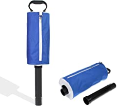 HOW TRUE Golf Ball Pick Up Shag Bag Portable Golf Ball Retriever with Removable Plastic Tube
