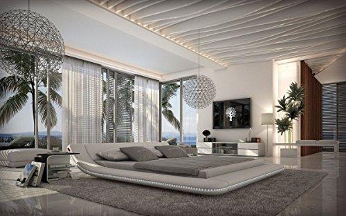 Sofa Dreams compleet bed Custo wit met matras en lattenbodem 180 x 200 cm