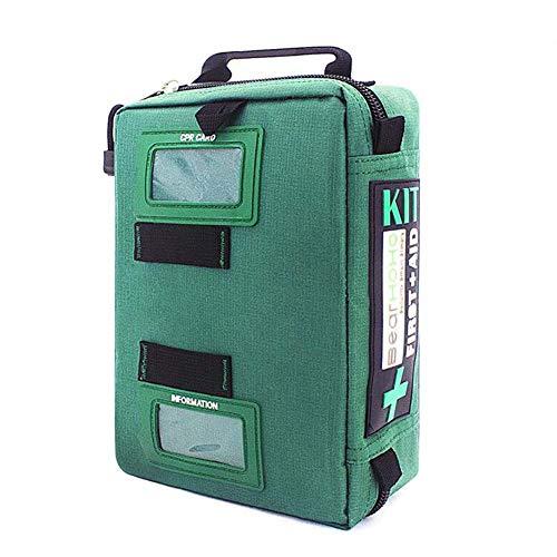 Qnlly 255PCs Kit de Primeros Auxilios Compacto Kit de Trauma de Supervivencia de...