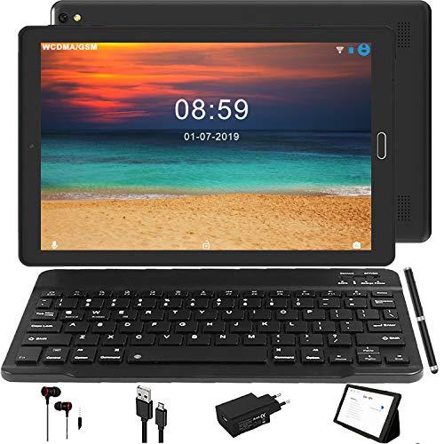 Tablet Android 8.0,3G Phablet con 3 ranuras (Dual SIM + SD), procesador de cuatro núcleos, 1,5 GHz, 2 GB + 32 GB, doble cámara, WiFi, Bluetooth, GPS