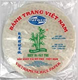 Bamboo Tree Spring Roll Rice Paper Wrappers, 22cm (3 Packs)