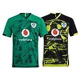 2021 Irlanda Rugby Jersey, Irlanda Hogar/Alejado De La Manga Corta Camiseta De Rugby Camisas De Polo, Entrenamiento De La Competencia De Los Hombres Jersey De Fútb Green-L
