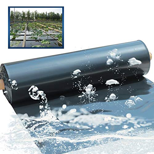 GDMING Forro para Estanque, Flexible Caucho Pieles De Estanque Resistencia Al Desgarro Impermeable 0.6mm PVC, para Revestimientos De Cama para Estanques De Peces Reservorio, 49 Tamaños