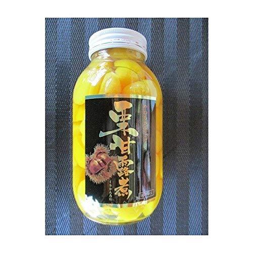 国内加工 一級品 栗甘露煮 ( 瓶40-60粒 )  1100g  ( 固形650g ) × 12本 業務用 限定品