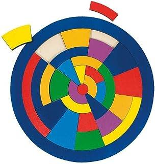 Goki - 2041652 - Puzzle en Bois À Encastrement - Circuit - 29 Pièces