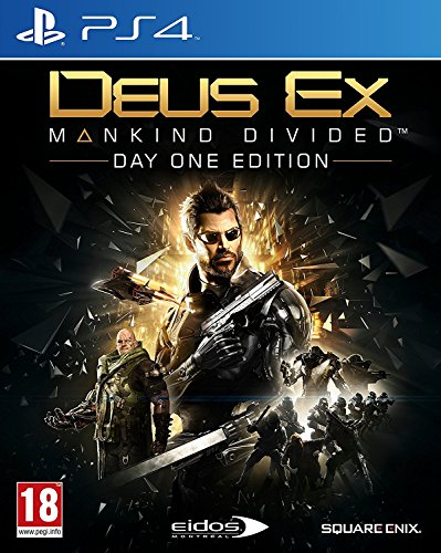 Deus Ex: Mankind Divided - Day-One Edition - PlayStation 4 (PS4) Lingua italiana