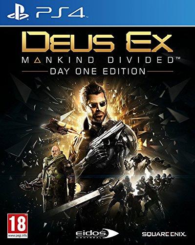 Deus Ex: Mankind Divided - Day-One Edition - PlayStation 4 (PS4) Lingua italiana