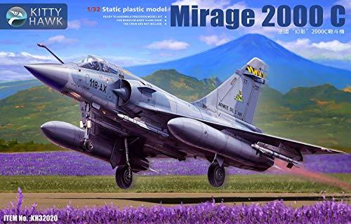 キティホークモデル 1/32 フランス空軍 ミラージュ 2000C プラモデル KITKH32020