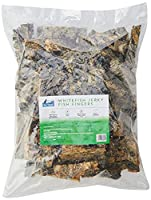 Natural Dental aid - crunchy texture helps to remove tartar. Hypoallergenic Low in fat 100% Whitefish Skins Fish Fingers are a great crunchy fish treat packed with natural goodness to promote the health and wellbeing of your dog.