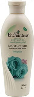 Enchanteur MositureSilk Aloe Vera & Olive Butter Gorgeous Body Lotion 250ml
