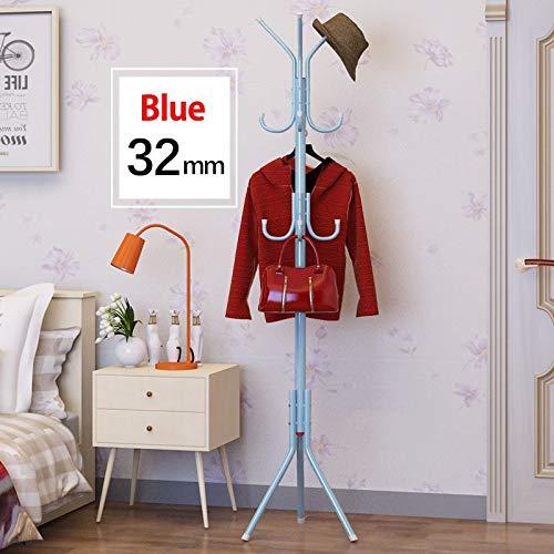 Leshared Stalen kapstok, eenvoudige opslag, voor het opbergen van woonruimtes, rok planken