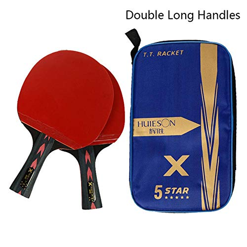 Why Choose biliten 2PCS 5 Star Lightweight Powerful Carbon Table Tennis Racket Set