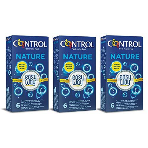 Control Profiattici Nature Easy Way 18 conserveringsmiddelen, elk pakket bevat 6 delicate profielstrips, waarmee je hem in slechts één handgreep kunt uitrollen.