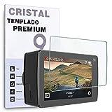 REY Protector de Pantalla para YI 4K Plus, Cristal Vidrio Templado Premium