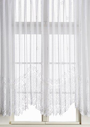 Anna Cortina, Tende per finestre, Bianco (Weiß), 105 x 600 cm