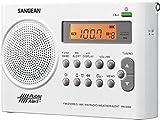 Sangean PR-D9W AM/FM Weather Alert Rechargeable Portable Radio (Renewed)