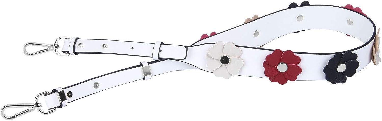 VanEnjoy Wide Flower Purse Straps Replacement Vintage Guitar Handbags Strap for Shoulder Bags
