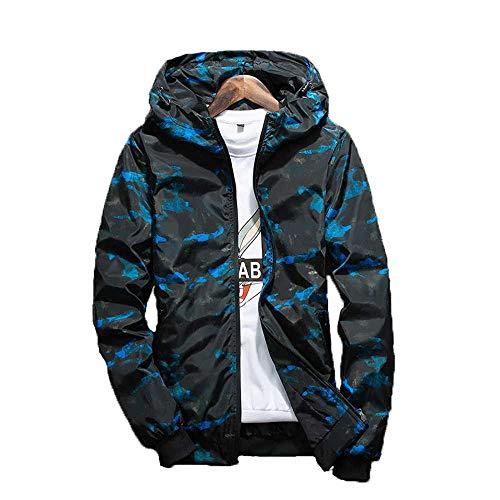 MCSZG Frühling Herbst Herren Freizeitjacken Mode Camouflage Oberbekleidung Herrenmäntel Herren Bomberjacken Herren Markenkleidung Plus Size