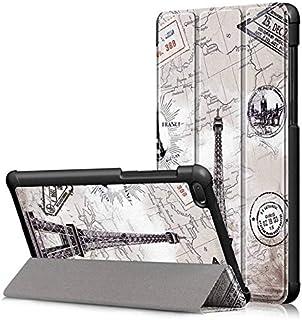 SIZOO - Tablets & e-Books Case - Case For for Lenovo Tab E7 2018 Tablet Funda Tri-Fold Flip Stand Cover For for Lenovo 710...