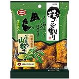 亀田製菓 技のこだ割り ぶどう山椒味 X1箱(10袋)