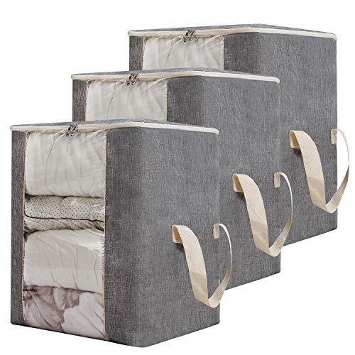 Qozary 122L Large Foldable Storage Bag Organizer...