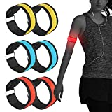 <span class='highlight'><span class='highlight'>FIREOR</span></span> LED Armband Glow in the Dark Led Slap Bracelets Sports Safety Event Wristband for Runners Joggers Cyclists