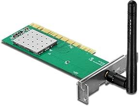 TRENDnet Wireless N150 Low-Profile USB Adapter, 150Mbps, 2dBi External Antenna, Support Windows XP/Vista/7/8, TEW-703PIL