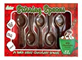 Chocolate Stirring Spoons Milk Chocolate Covered