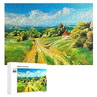 夏の風景 300ピースのパズル木製パズル大人の贈り物子供の誕生日プレゼント