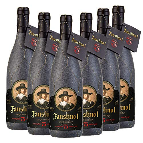 Vino Tinto Rioja Faustino I Gran Reserva 75 Aniversario | 6 Botellas