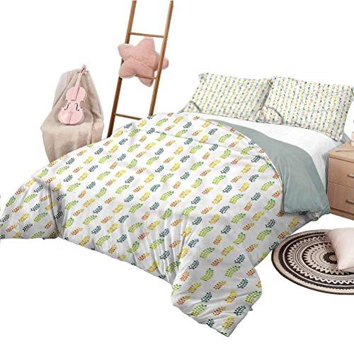 Tagesdecken Set Floral Bettbezug mit...