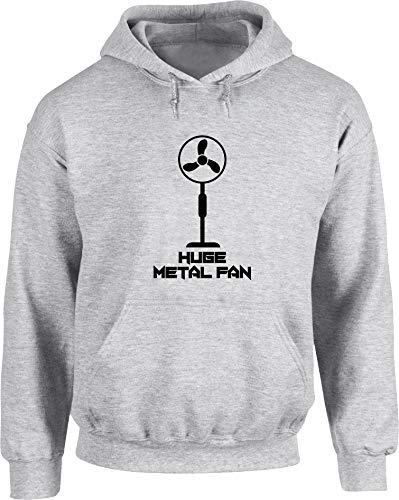 Hippowarehouse I'm a Huge Metal Fan Unisex Hoodie Hooded top (Specific Size...