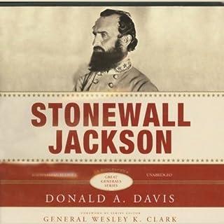 Stonewall Jackson audiobook cover art